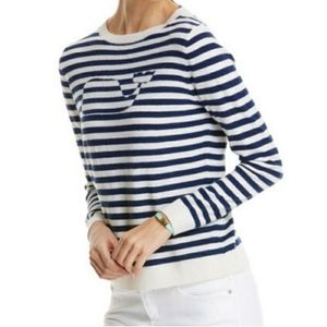 Vinyard Vines cashmere angora whale sweater